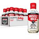 Deals List: Muscle Milk Original Protein Shake, Vanilla Crème, 34g Protein, 17 FL OZ, 12 Count