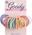 Deals List: GOODY Hair SlideProof Hair Tie Elastics, 4mm, Black, 10 Count