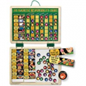 Deals List: Melissa & Doug Deluxe Wooden Magnetic Responsibility Chart With 90 Magnets