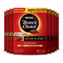 Deals List: Nescafe Taster's Choice Instant Coffee, House Blend, 18 count (Pack of 8)