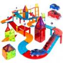 Deals List: BCP 105-Piece Kids Magnetic Racetrack Tiles Set