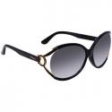 Deals List: Salvatore Ferragamo Grey Gradient Round Ladies Sunglasses