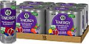 Deals List: V8 +Energy, Healthy Drink, Natural Energy from Tea, Pomegranate Blueberry, 8 Ounce Can (4 Packs of 6, Total of 24)