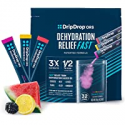 Deals List: 16 Ct DripDrop ORS Electrolyte Powder For Dehydration Relief Fast