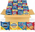 Deals List: OREO Original, OREO Golden, CHIPS AHOY! & Nutter Butter Cookie Snacks Variety Pack, 56 Snack Packs (2 Cookies Per Pack)