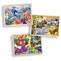 Deals List: Melissa & Doug 3-Puzzle Jigsaw Set Dinosaurs, Ocean, Safari