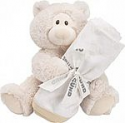 Deals List: Baby GUND Philbin Teddy Bear Plush with Blanket Gift Set Gender Neutral, Grey