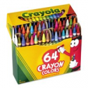 Deals List: Crayola Crayons Box with Built-In Sharpener, 64 Count