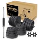 Deals List: Pixnor Dumbbells Weight Sets Adjustable 66LB/30kg