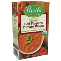 Deals List: Pacific Foods Organic Roasted Red Pepper And Tomato Bisque, 17.6-Ounce Cartons, 12-Pack