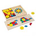 Deals List: Melissa & Doug Pattern Blocks and Boards Classic Toy w/120 Shape