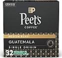 Deals List: Peet's Coffee Single Origin Guatemala K-Cup Coffee Pods for Keurig Brewers, Medium Roast, 32 Pods