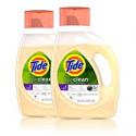 Deals List: Tide Purclean liquid laundry detergent, honey lavender, pack of 2, 46 fl Ounce each, 2 Count