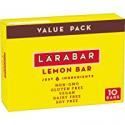 Deals List: Larabar Lemon Bar, Gluten Free Vegan Fruit & Nut Bar, 1.6 oz Bars, 10 Ct
