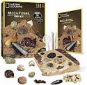 Deals List: 15-Fossil National Geographic Mega Fossil Dig Kit