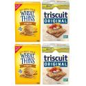 Deals List: Triscuit Whole Grain Crackers 4 Flavor Variety Pack, Regular Size, 4 Boxes