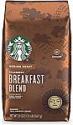 Deals List: Starbucks Medium Roast Ground Coffee — Breakfast Blend — 100% Arabica — 1 bag (20 oz.)