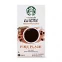 Deals List: Starbucks VIA Instant Coffee Medium Roast Packets — Pike Place Roast — 1 box (8 packets)