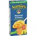 Deals List: 12-Pack Annies Classic Cheddar Macaroni and Cheese 6 oz