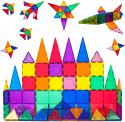 Deals List: PicassoTiles 60 Piece Set 60pcs Magnet Building Tiles Clear Magnetic 3D Building Blocks Construction Playboards - Creativity beyond Imagination, Inspirational, Recreational, Educational, Conventional