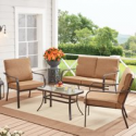 Deals List: Mainstays Stanton 4-Piece Outdoor Patio Conversation Set