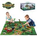 Deals List: TEMI Dinosaur Toy Figure w/ Activity Play Mat & Trees