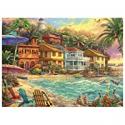 Deals List: Buffalo Games Chuck Pinson Island Time 1000 Piece Jigsaw Puzzle
