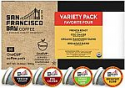 Deals List: SF Bay Coffee OneCUP Variety Pack 80 Ct Compostable Coffee Pods, K Cup Compatible including Keurig 2.0