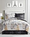 Deals List: Fairfield Square Collection Paris Gold 8-Pc. Reversible Comforter Sets
