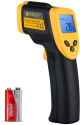 Deals List: Etekcity Infrared Thermometer 1080 Non-Contact Digital Temperature Gun for Cooking, Reptiles, Pizza Oven (Not for Human), 58℉ to 1022℉ (-50℃ to 550℃)