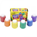 Deals List: Crayola Washable Kids Paint, 6 Count, Kids At Home Activities, Painting Supplies, Gift,