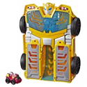 Deals List: Transformers Playskool Heroes Rescue Bots Academy Bumblebee Track Tower 14-In