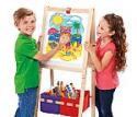 Deals List: Cra-Z-Art 3-in-1 Smartest Artist Standing Easel- Chalk Board, Dry Erase Board and Storage