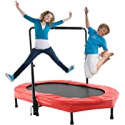 Deals List: ANCHEER Trampoline for 2 Kids with Adjustable Handle