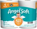 Deals List: 4-count Angel Soft 2-Ply Toilet Paper Bath Tissue Mega Rolls (425 Sheets per Mega Roll)