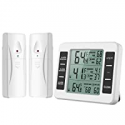Deals List: ORIA Refrigerator Thermometer with 2 Wireless Sensors