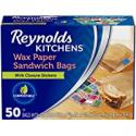"Deals List: Reynolds Kitchens Wax Paper Sandwich Bags - 6x7-13/16"", 50 Count"