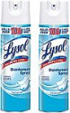 Deals List: Lysol Disinfecting Spray, Crisp Linen, 19oz. (Pack of 2)