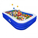 Deals List: Hilor Inflatable Swimming Pool 120-in x 72-in x 22-in