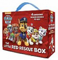 Deals List: 4-Book PAW Patrol The Little Red Rescue Box Board Book Set