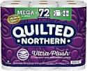 Deals List: Quilted Northern Ultra Plush Toilet Paper, 18 Mega Rolls = 72 Regular Rolls, 3-Ply Bath Tissue