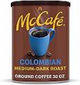 Deals List: McCafe Medium Dark Roast Ground Coffee, Colombian, 30 Ounce (Pack of 6)