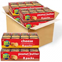 Deals List: Ritz (RIUM9) Creamy cheese and peanut butter, Variety Pack, 32 Snack Packs