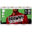 Deals List: 8-Pack Brawny Flex Paper Towels Triple Roll