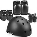 Deals List: Purpol Bike Helmet Set w/Skateboard Knee, Elbow Pad Wrist Guards