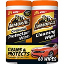 Deals List: 2-Pack Armor All Car Interior Cleaner Protectant Wipes 30-ct