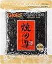 Deals List: Daechun(Choi's1), Roasted Seaweed, Gim, Sushi Nori (50 Full Sheets), Resealable, Gold Grade, Product of Korea