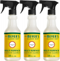 Deals List: Mrs. Meyer's Clean Day Multi-Surface Everyday Cleaner, Lavender, 16 ounce bottle (Pack of 3)