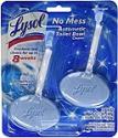 Deals List:  2-Ct Lysol No Mess Automatic Toilet Bowl Cleaner (Ocean Fresh Scent)
