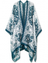 Deals List: Moss Rose Women's Beach Cover up Swimsuit Kimono Cardigan with Bohemian Floral Print